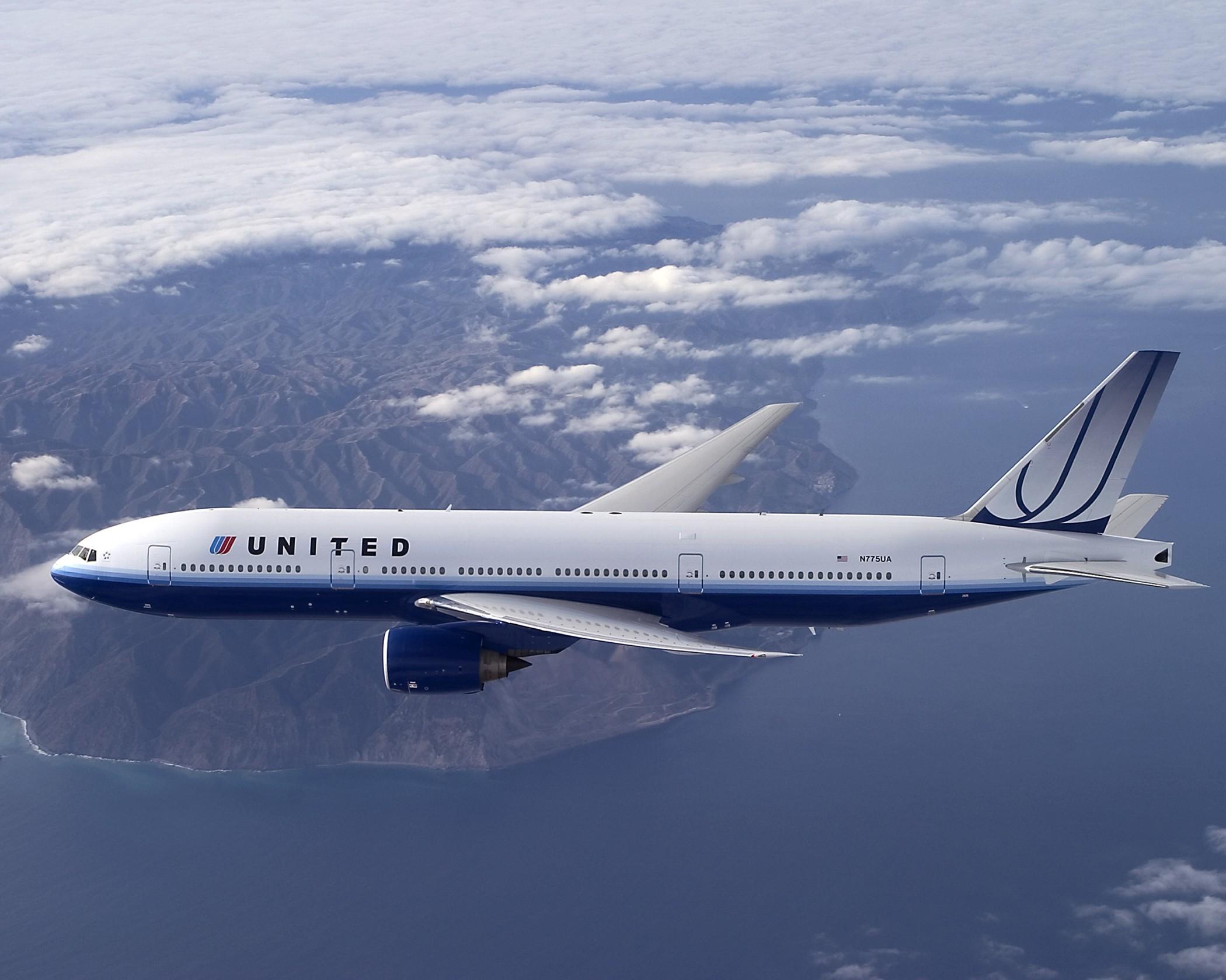 United plane