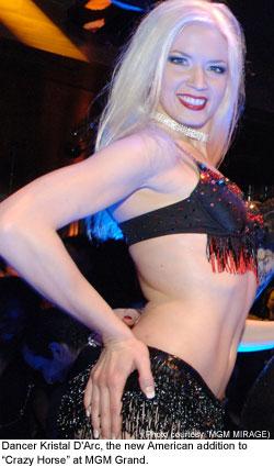 showgirls Las nude vegas