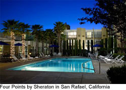 The Four Points by Sheraton San Rafael offers value for business travel and an ideal location near San Francisco and Napa